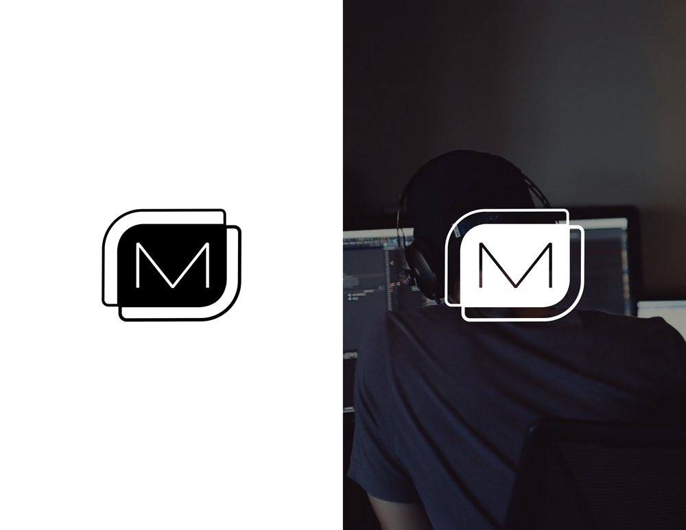 metova's logo on a white background and an image