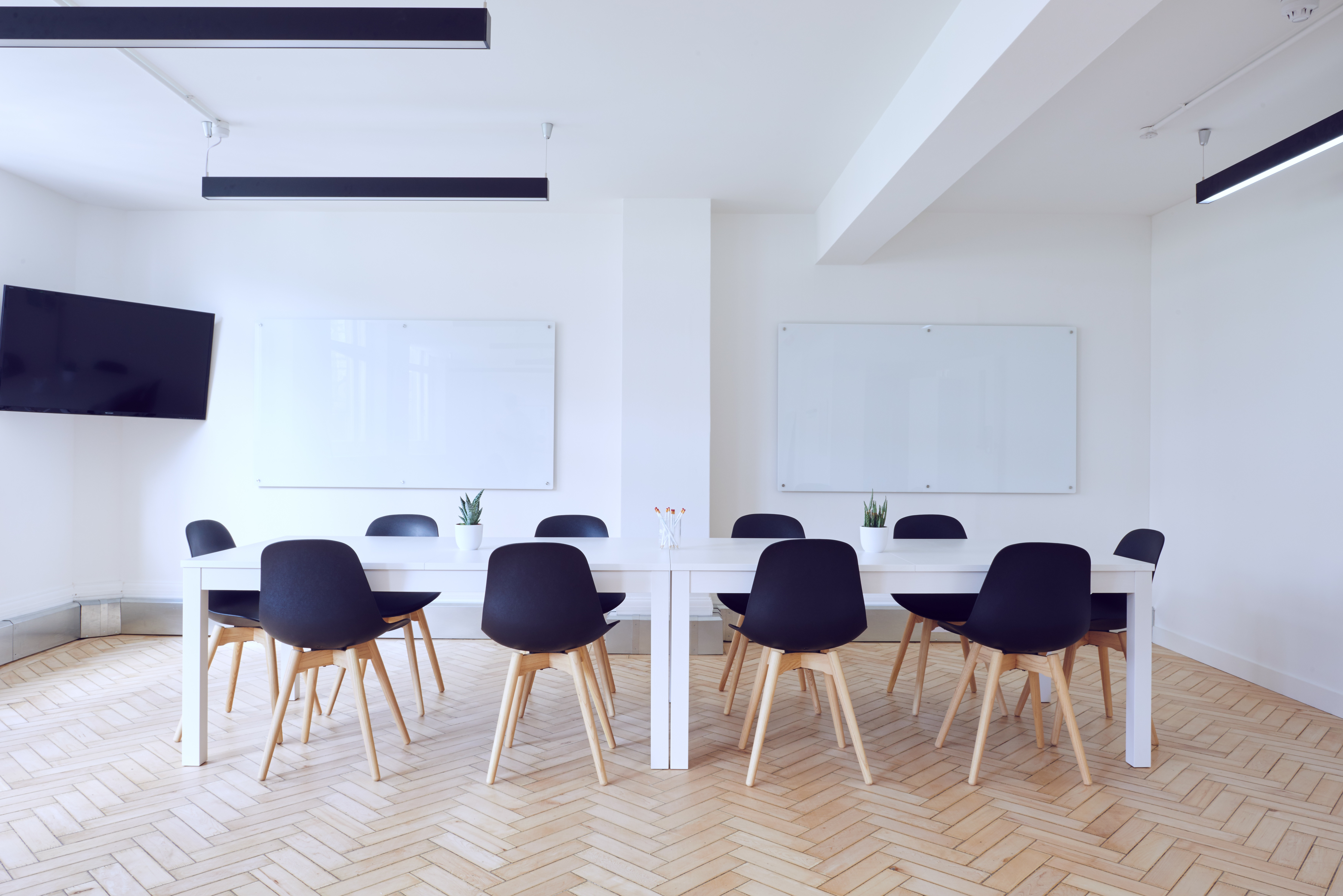 company buyer persona with open and airy meeting room