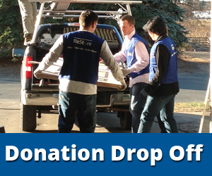 Click here for information about dropping off your donation