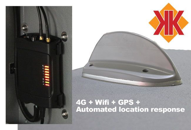 kimberley 4G + GPS technology - Best in Market