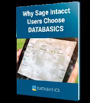 DATABASICS timesheets for Sage Intacct