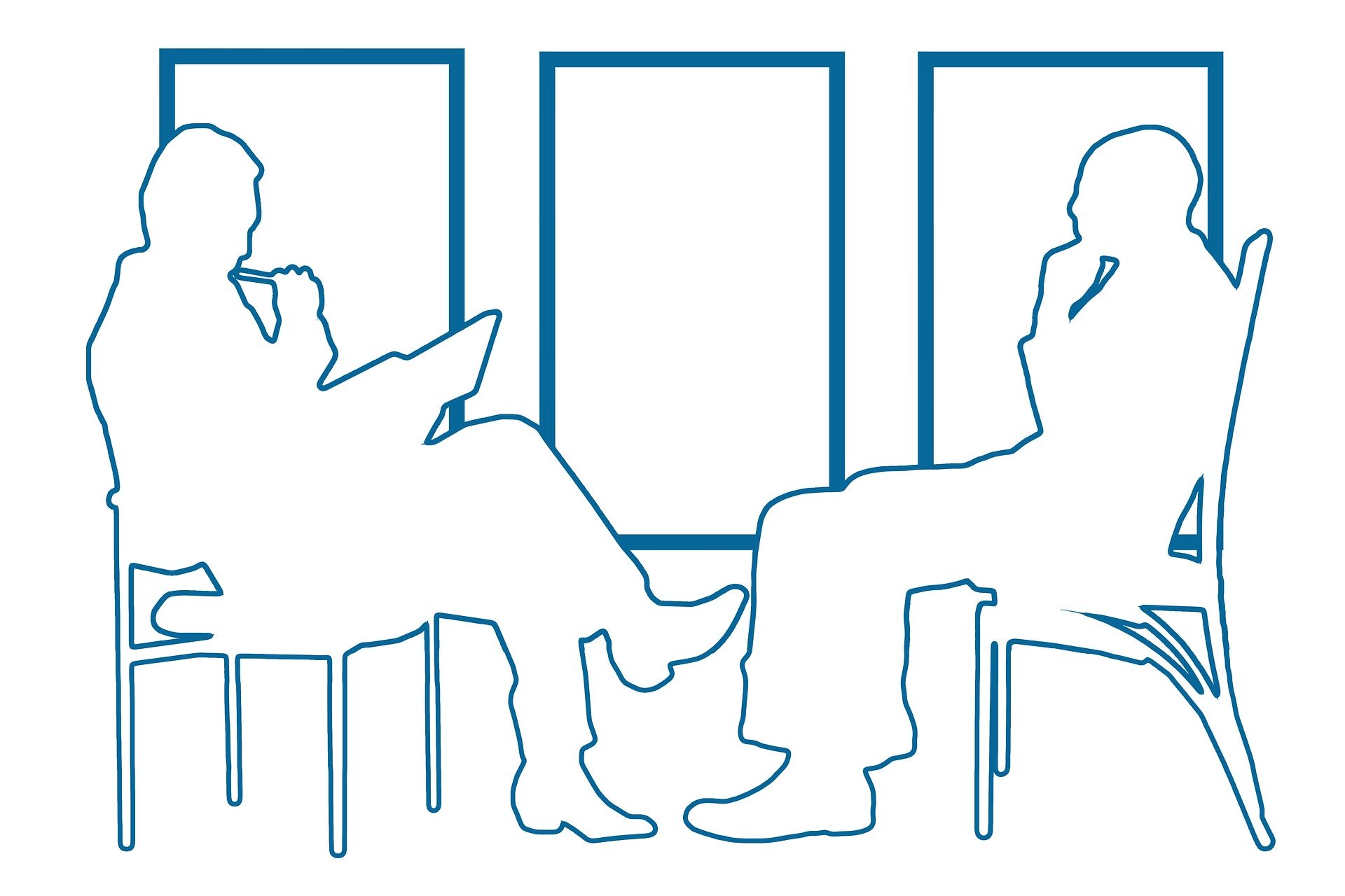Devops interview questions silhouettes