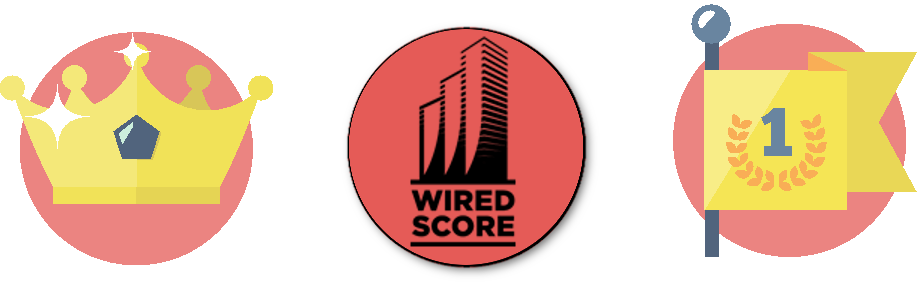 We are a Preferred Telecom Partner with WIRED SCORE  (as our parent company Xchange Telecom)