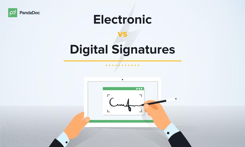 e signature design