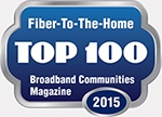 Broadband Communities Magazine - Fiber-To-The-Home Top 100 - 2015