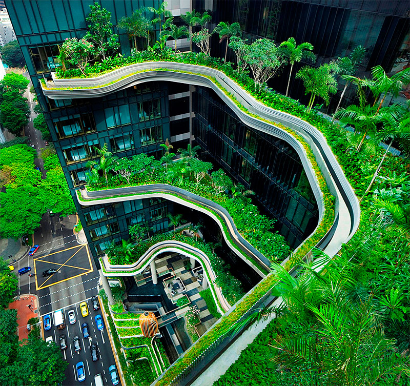 Top Rated Green Building Design Cities In Asia Singapore