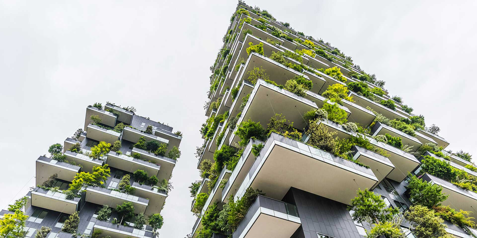 How green buildings can reduce the urban heat island