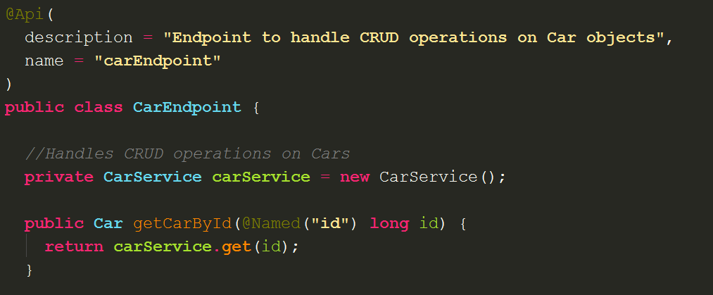 Digging into Cloud Endpoints: building a RESTful API