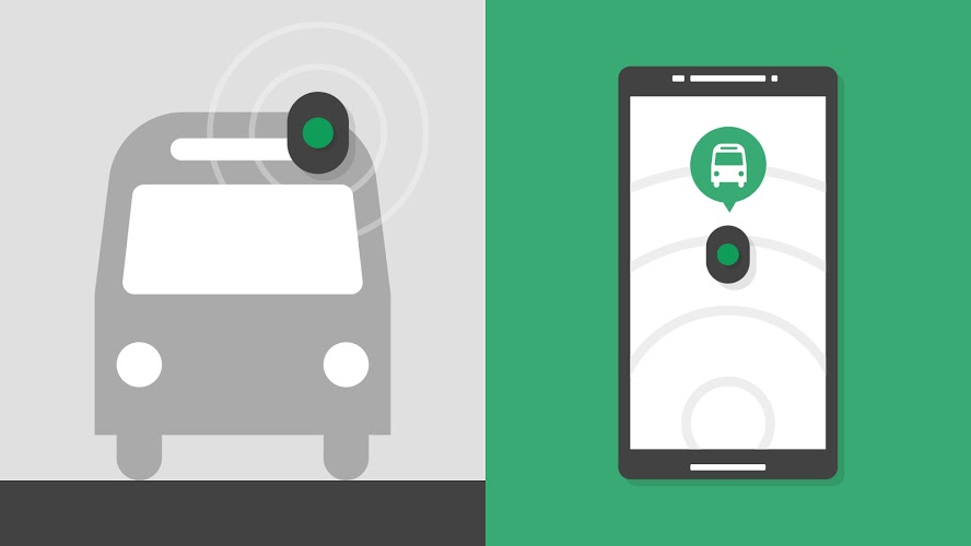 Google's New Beacon Technology Debuts on Manchester Buses