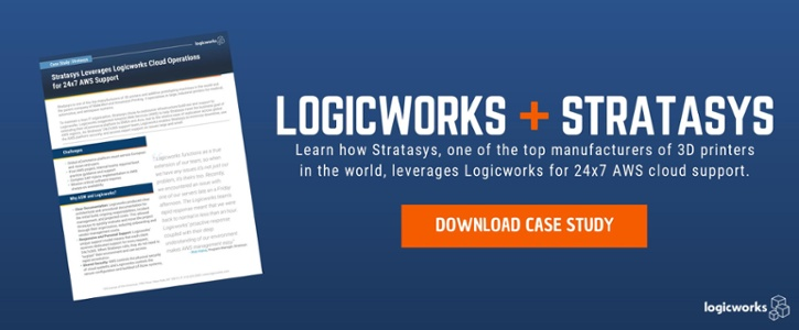 Case Study: Stratasys Leverages Logicworks for AWS Cloud Support