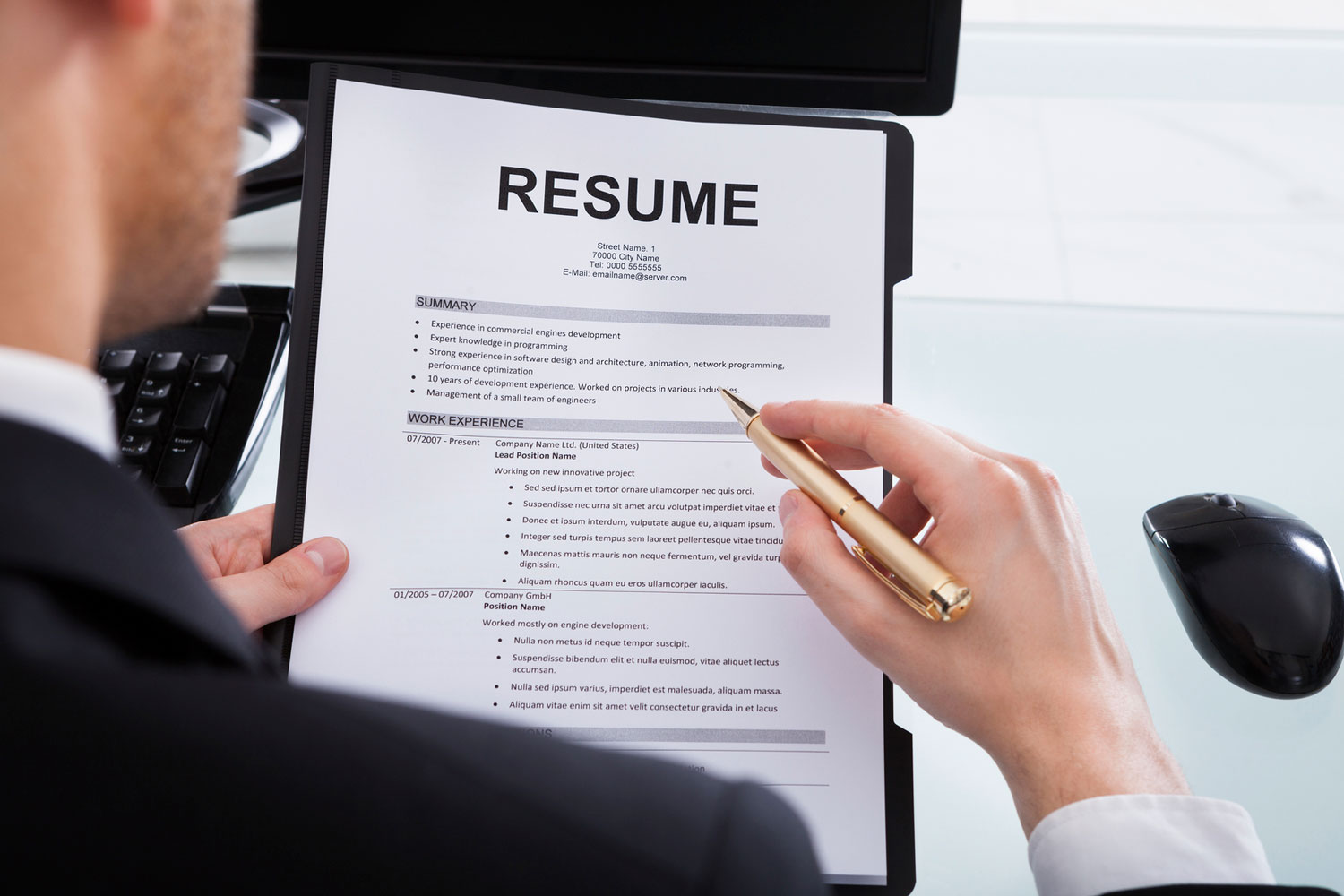 not having luck your job search update your resume