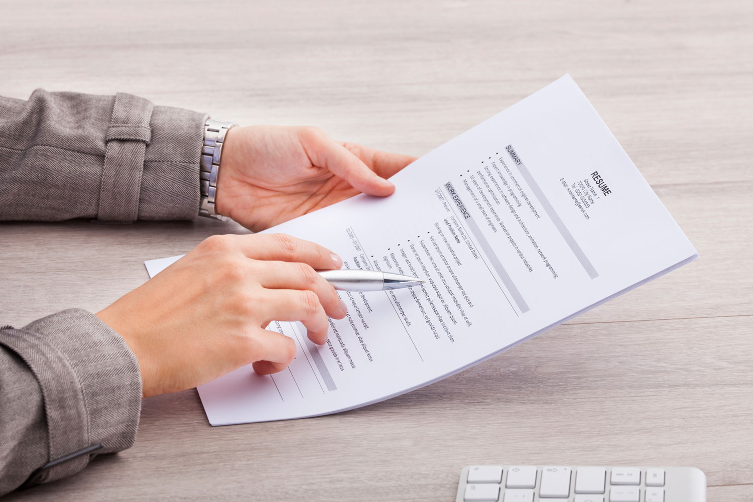 try these strategies to update your resume