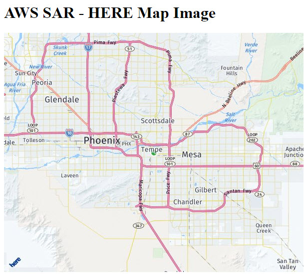 Map image result, Phoenix