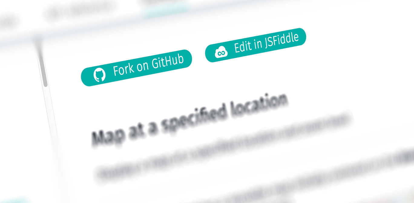 Introducing Github And Jsfiddle Support For Javascript Api Examples
