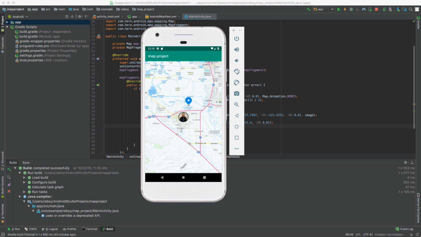 Placing Markers on a Map in Android with HERE - HERE Developer