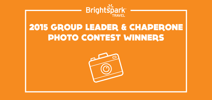 Brightspark's 2015 Teacher and Chaperone Photo Contest Winners