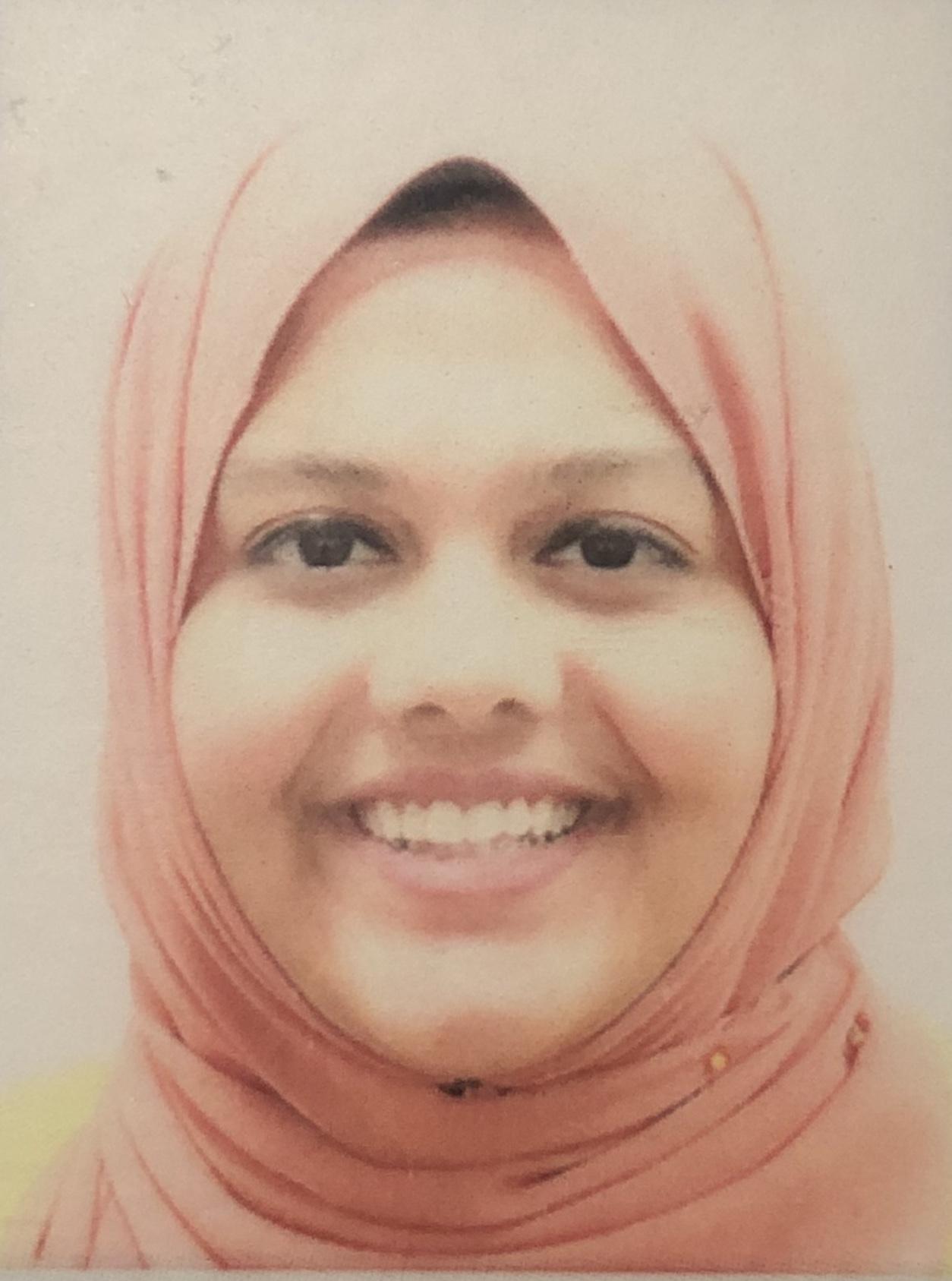Sabahat Fatima, Student Counsellor