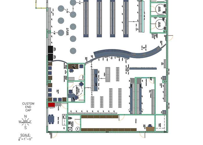 Pharmacy Floor Plans