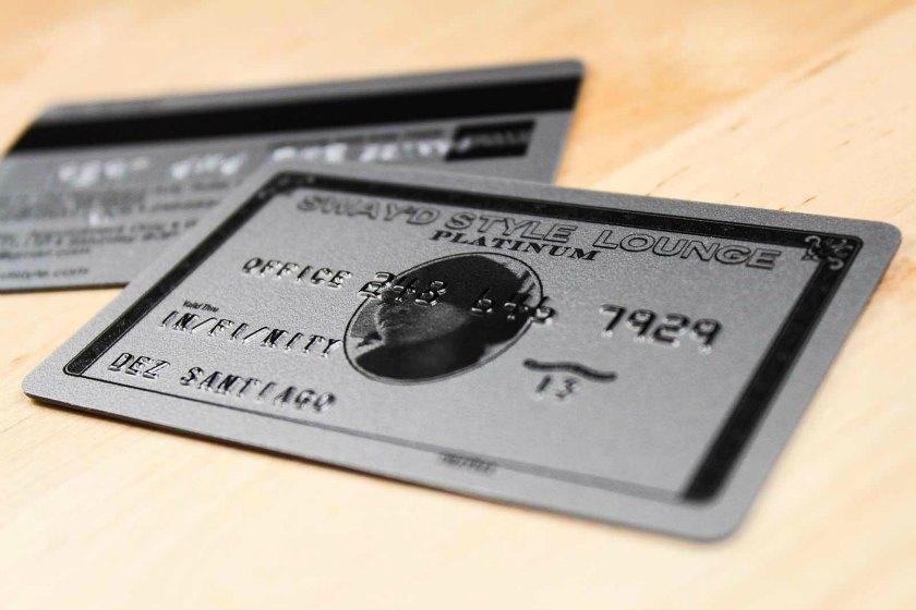 Embossed business cards plastic printers inc embossed business cards with metallic finish colourmoves