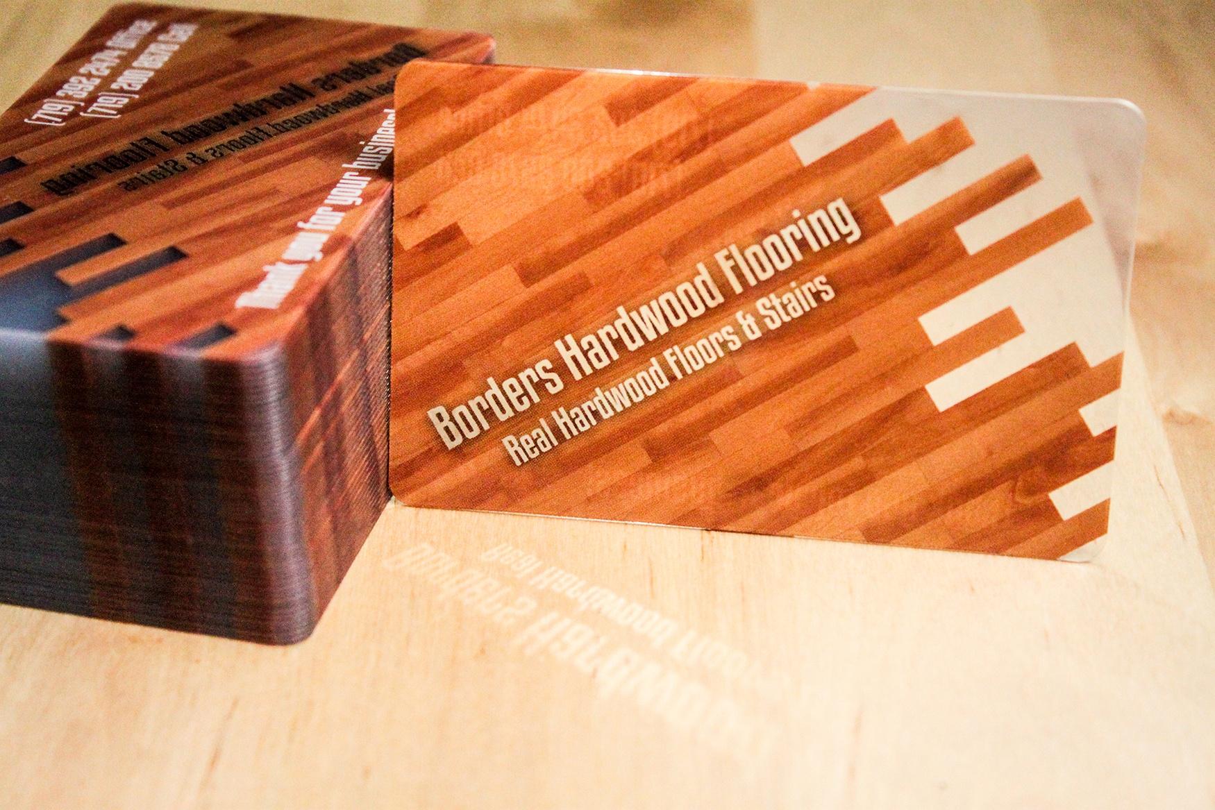 Borders hardwood flooring business cards colourmoves