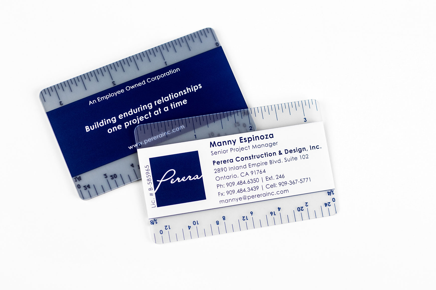 Construction & Design Business Cards