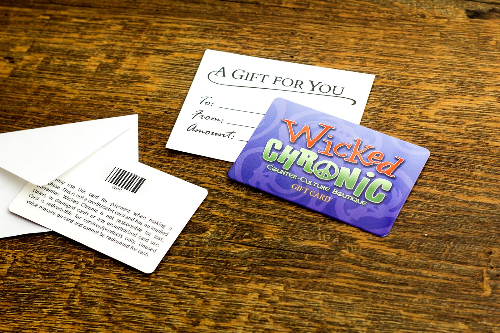 Wicked Chronic Gift Card