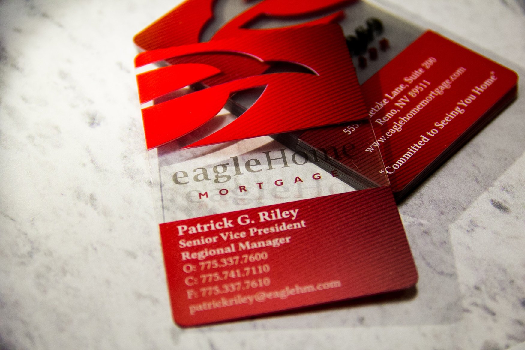 Eagle Home Mortgage Business Cards
