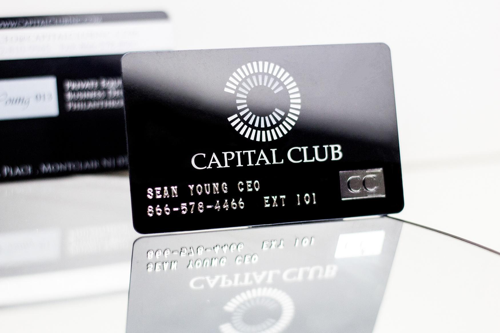 Embossed Business Cards | Plastic Printers, Inc.