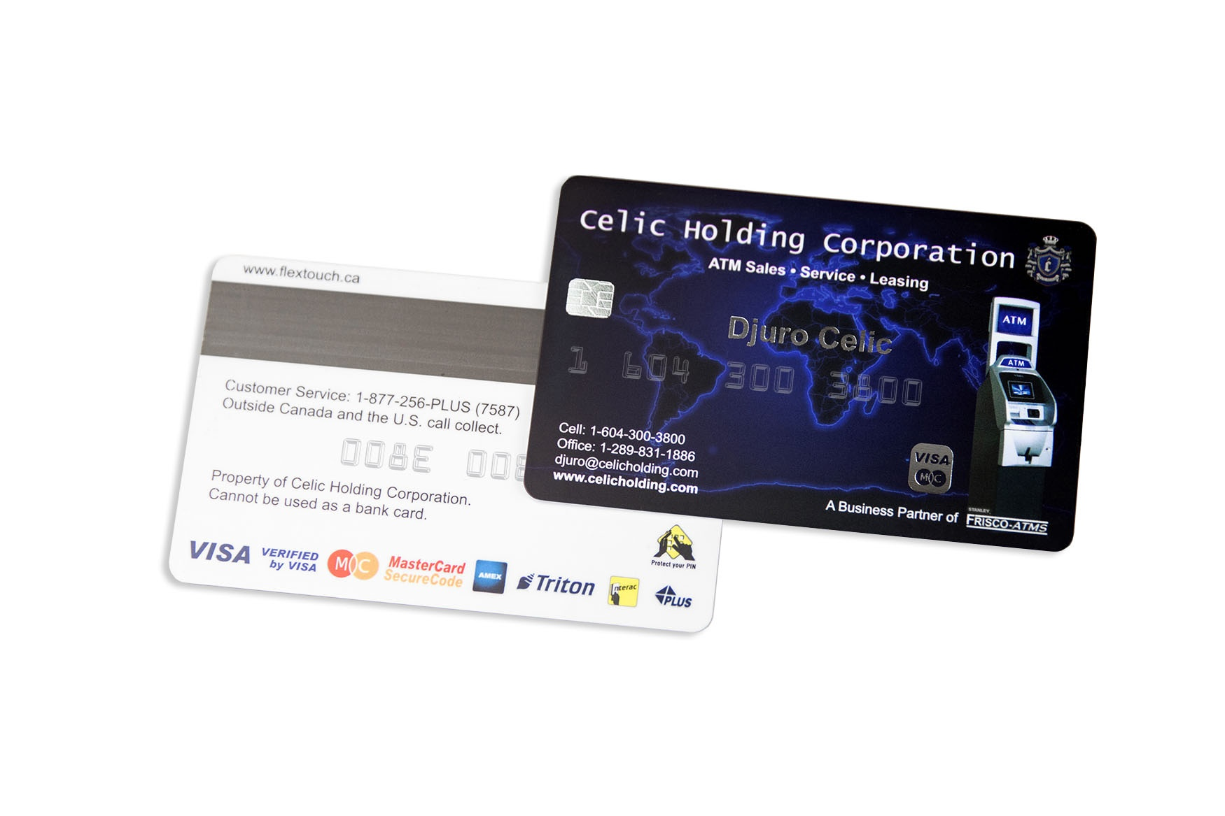 Embossed business cards plastic printers inc credit card style business cards colourmoves