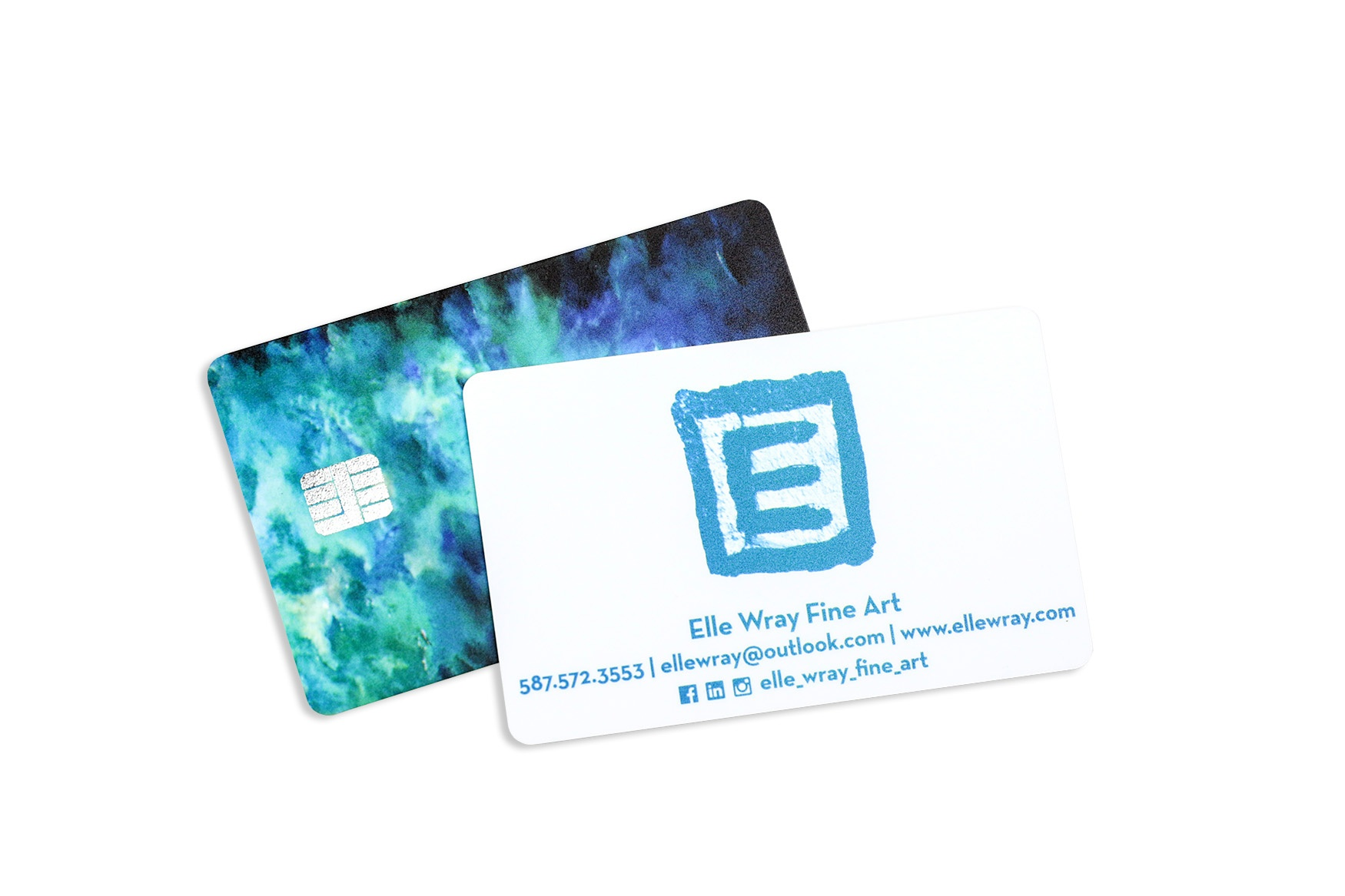 Elle Wray Fine Art Business Card