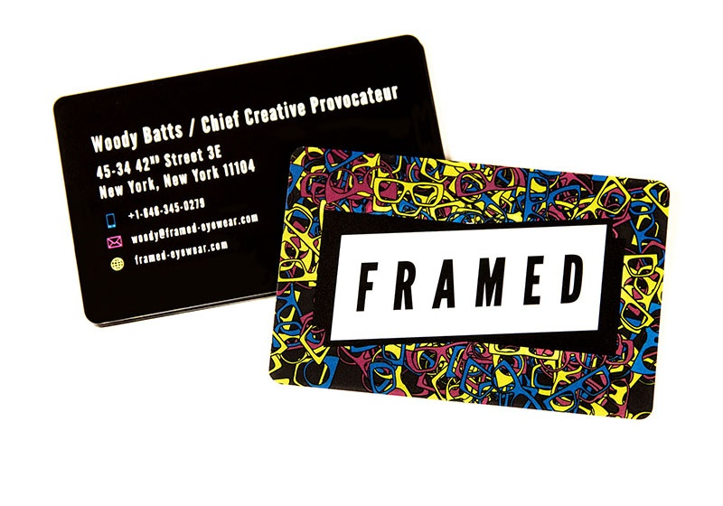 Optometry Business Cards Vip Cards Gift Cards And More