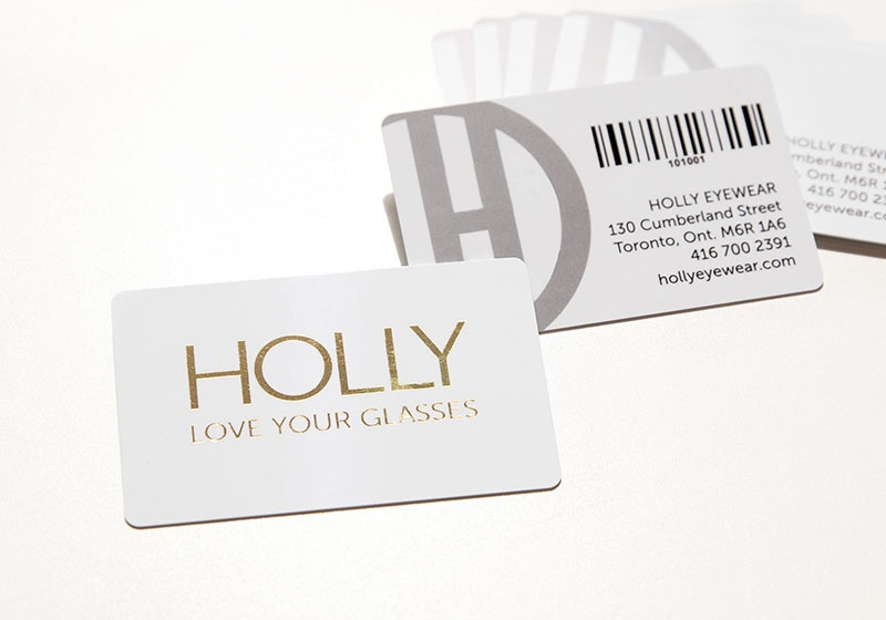 Optometry business cards vip cards gift cards and more gold foil business cards colourmoves