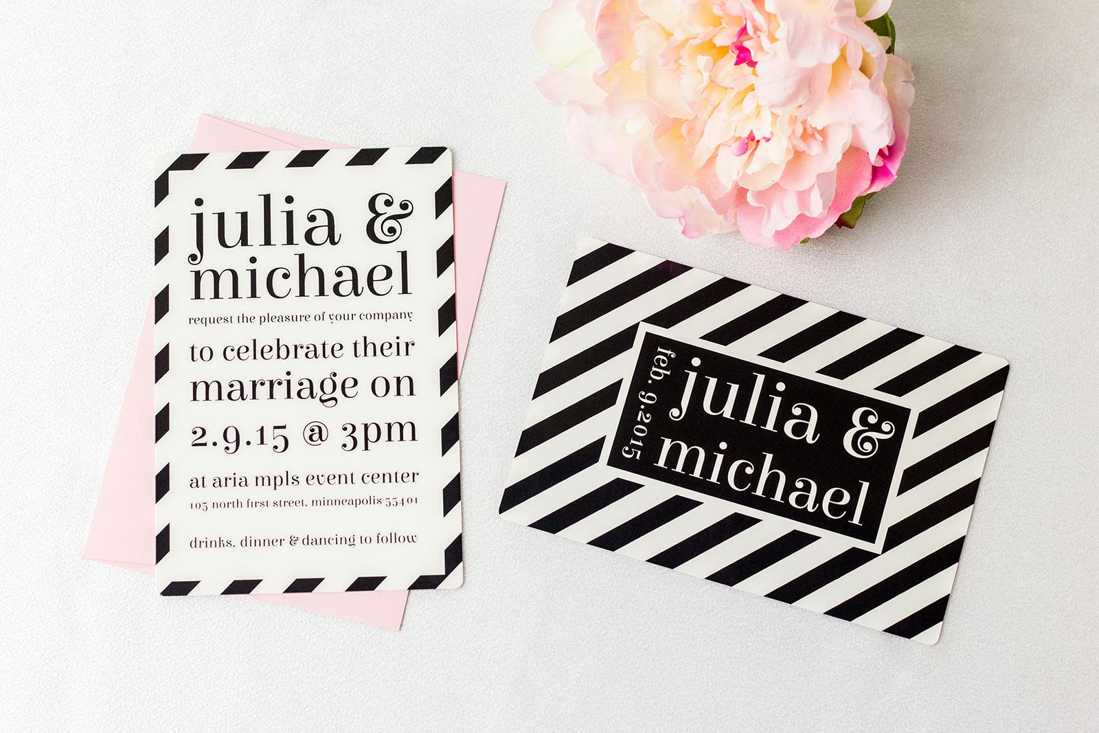 Elegant Wedding Invitations | LiveLoveLast by PlasticPrinters.com