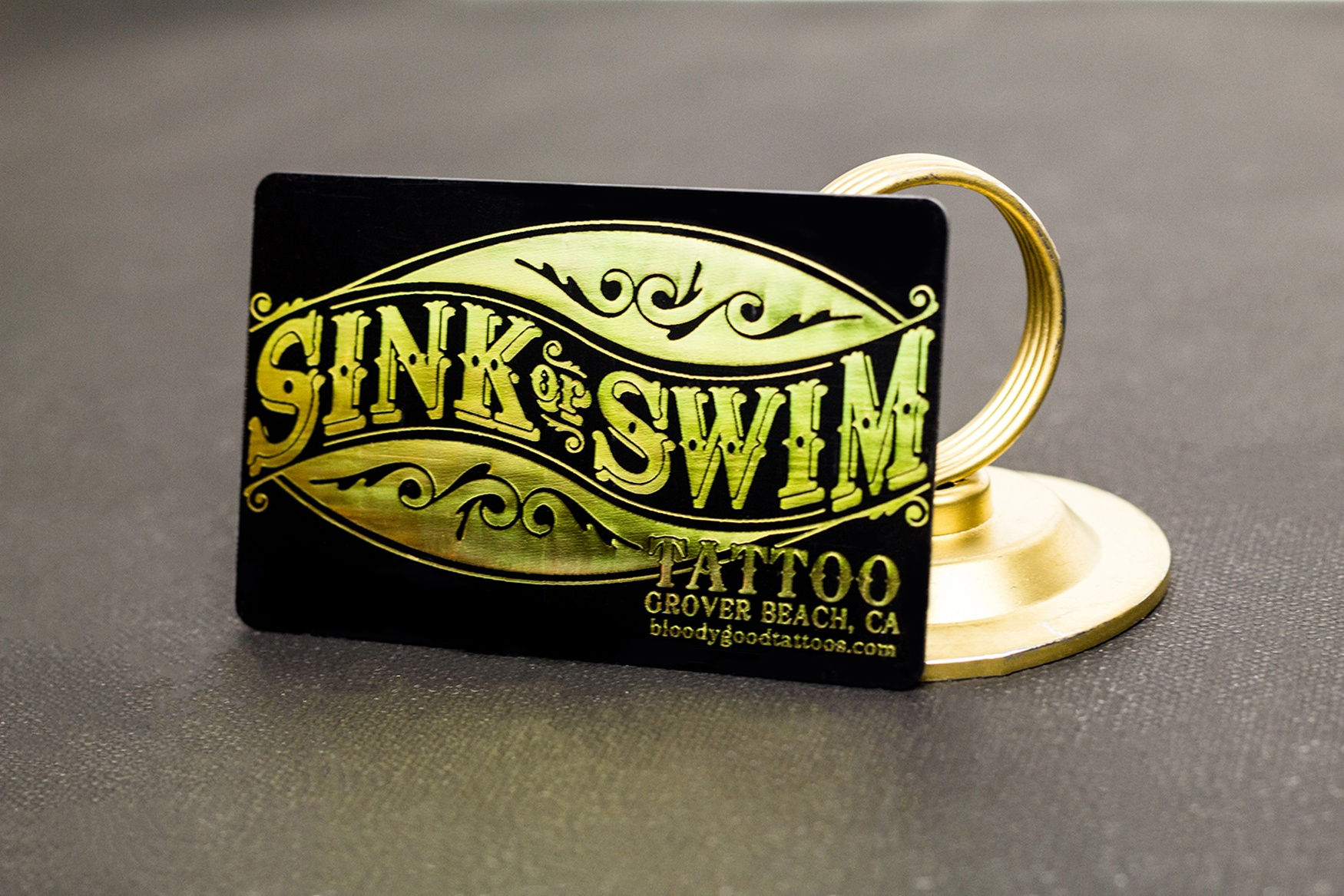 Tattoo Business Cards | Plastic Printers, Inc.