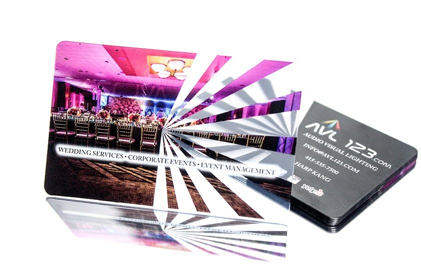 Avl 123 Event Business Card