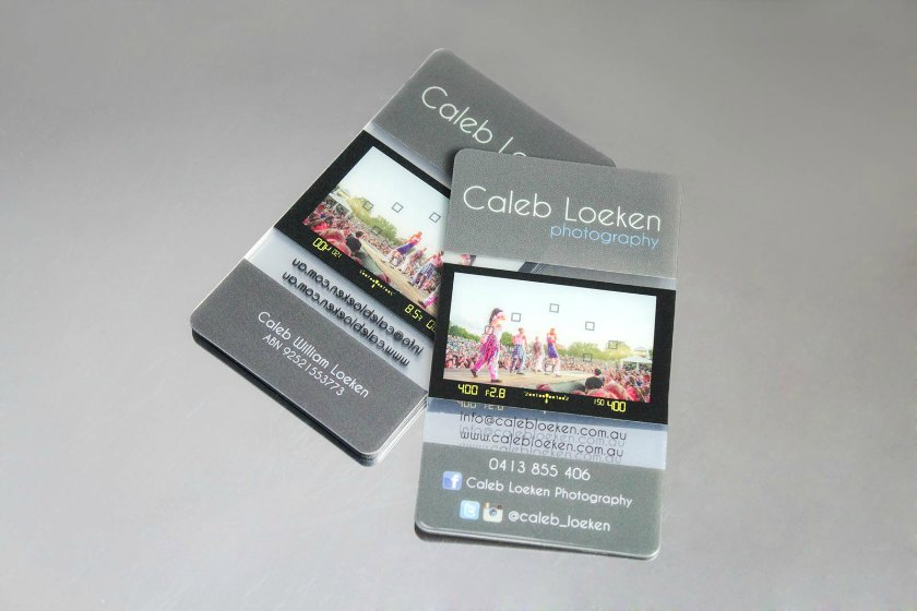 Photography business cards plastic printers inc photography business cards reheart Gallery