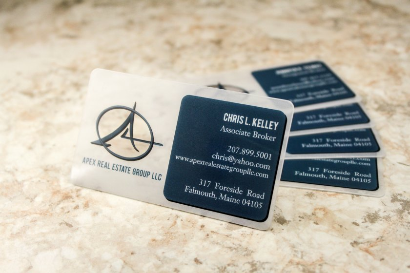 Real estate business cards plastic printers real estate business cards reheart Images