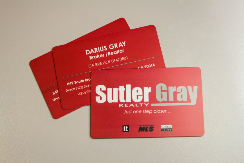 Real estate business cards plastic printers realty business cards reheart Choice Image