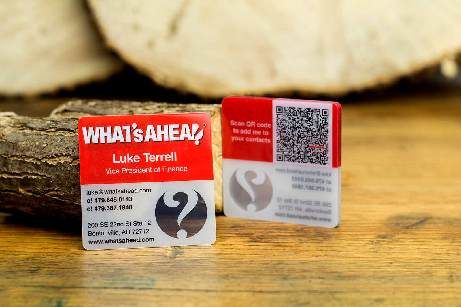 Square business cards are perfect to market your business qr code business cards reheart Image collections
