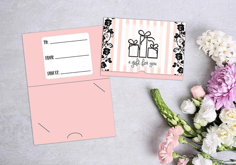 Custom Gift Card Holders | Plastic Printers, Inc.