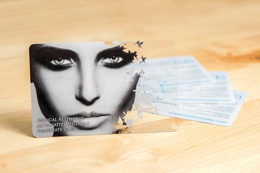 amazing business cards plastic printers inc