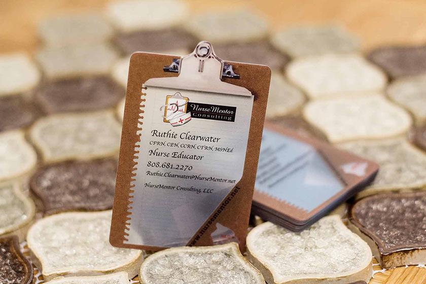 Custom Die Cut Business Cards Plastic Printers Inc