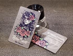 Tattoo business cards plastic printers tattoo business cards colourmoves