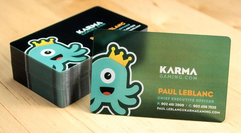 Plastic business cards printed by plastic printers inc transparent business cards reheart Gallery