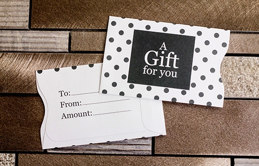 Gift Card Holders | Gift Cards from Plastic Printers