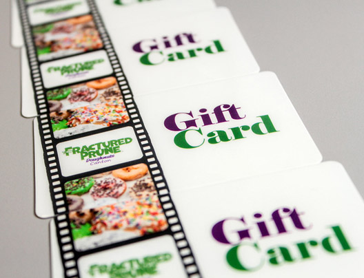 Plastic Gift Card examples