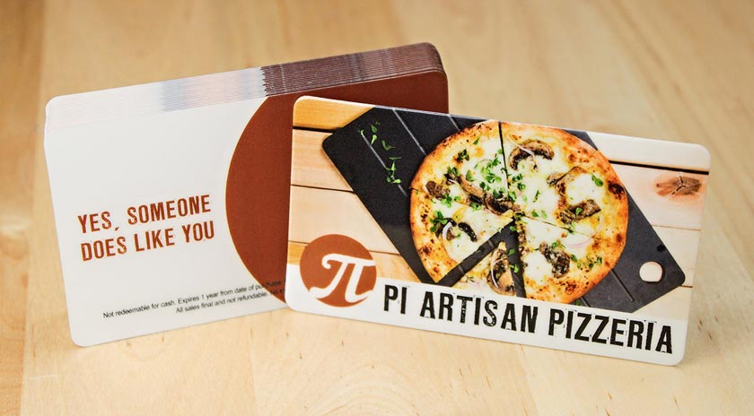 Custom gift cards by plastic printers inc restaurant gift cards colourmoves