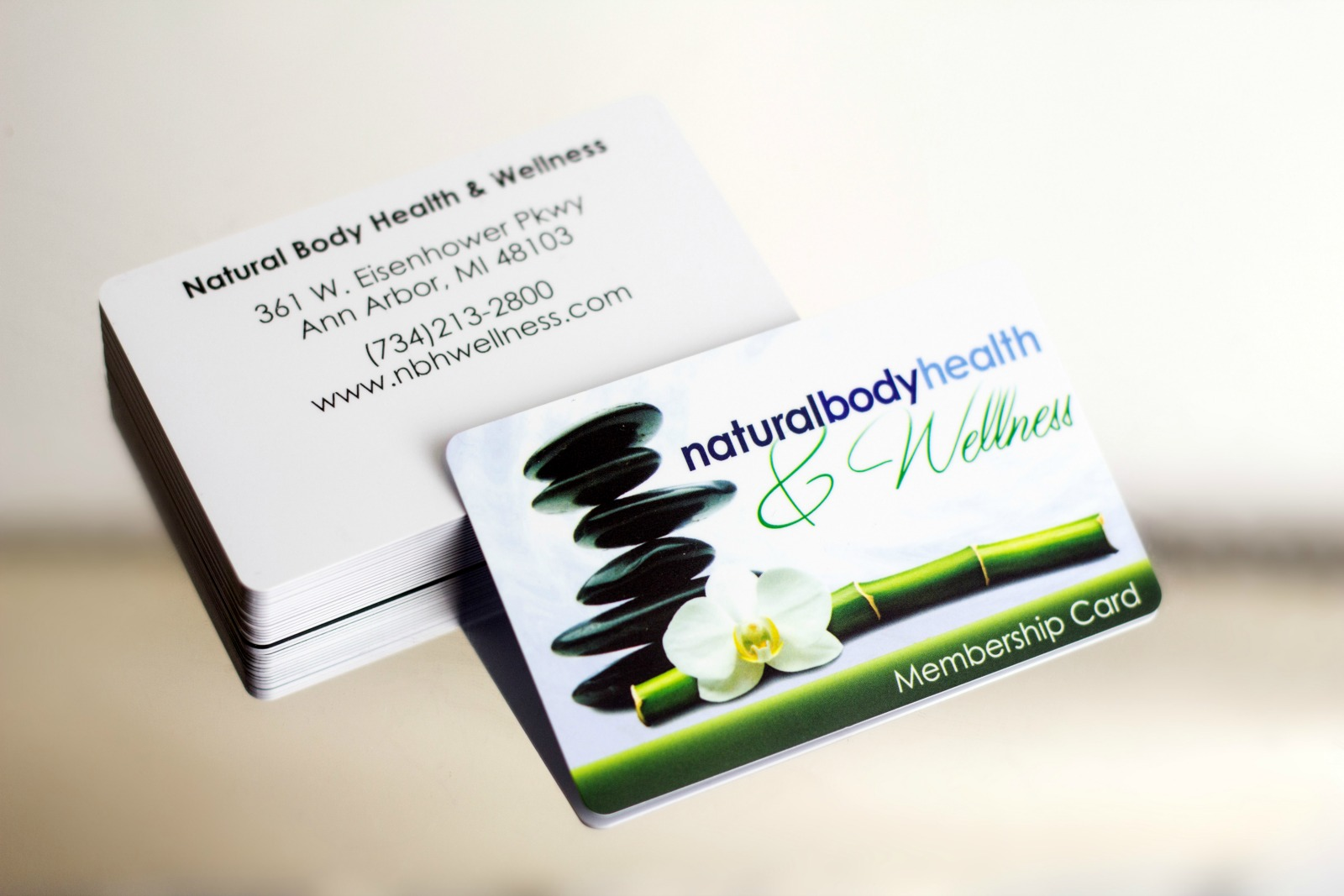 Spa Gift Cards | Plastic Printers