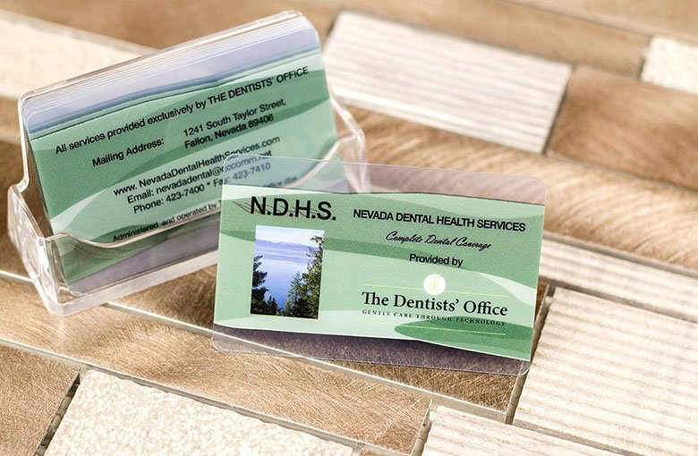 Dental Marketing | Business Cards from Plastic Printers