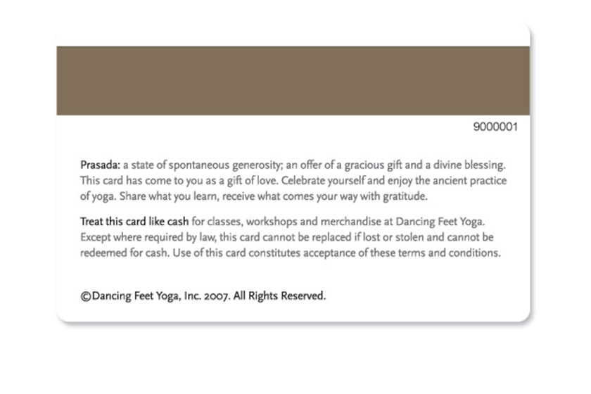 Gift card terms and conditions samples schedule a gift card consultation sample 1 spiritdancerdesigns Gallery
